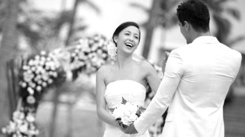 свадьба черно белое фото